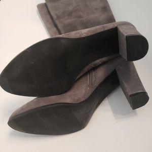 Bandolino Shoes - Bandolino Bdbellow gray suede style tall boots